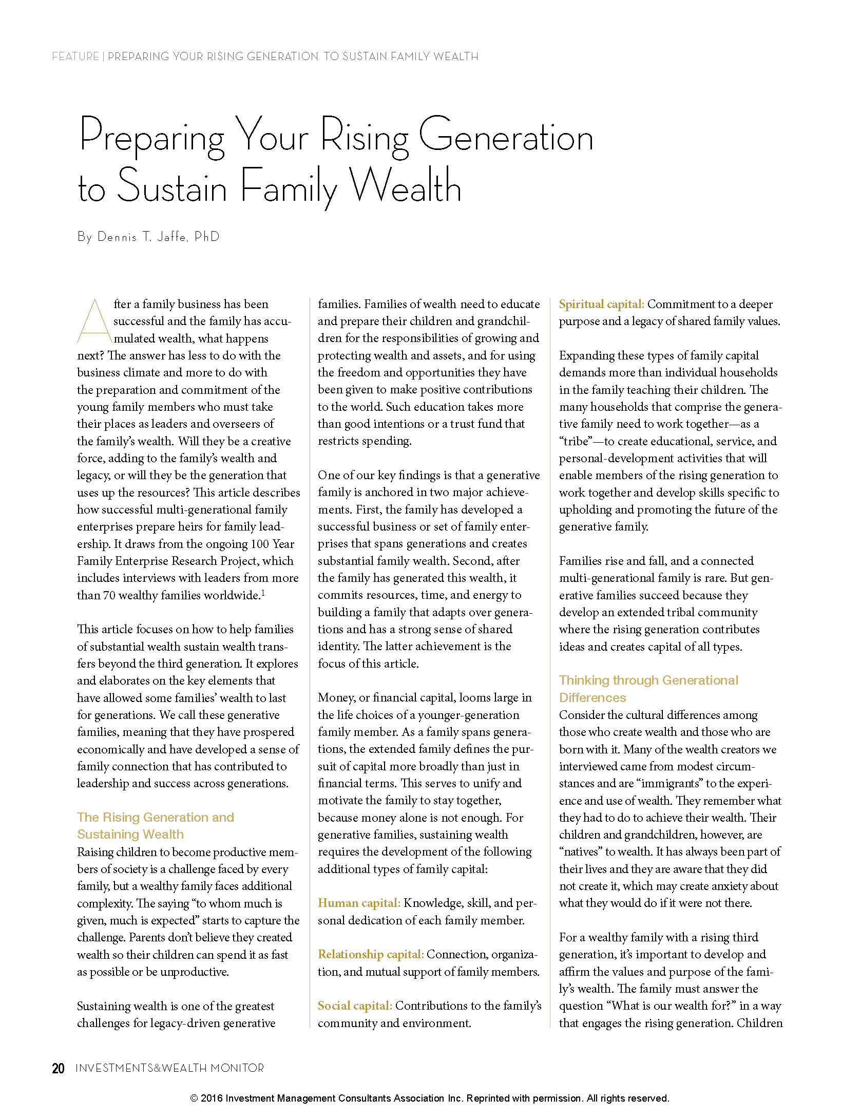 for love money a comprehensive guide to the successful generational transfer of wealth